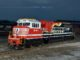 Norfolk Southern's latest commemorative locomotive honoring emergency first responders (PRNewsFoto/Norfolk Southern)