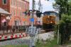 A CSX train passes through Marietta, Ga., in August 2015. (Photo by Todd DeFeo/The DeFeo Groupe)