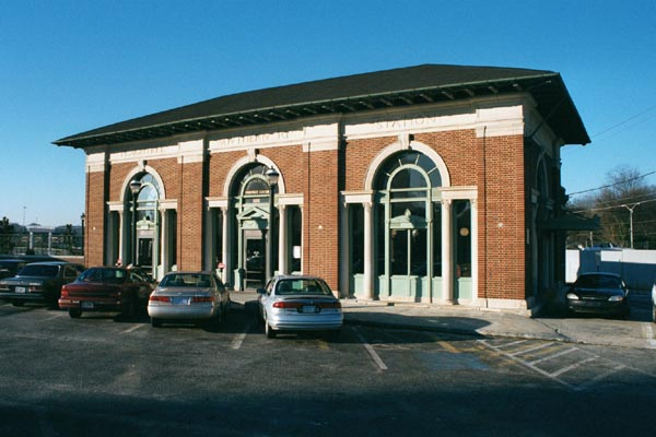 The historic Amtrak station in Atlanta was built by Southern Railway in 1918.